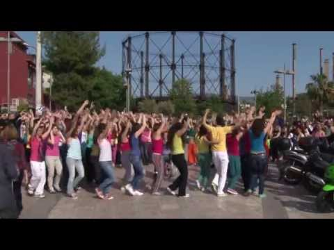 1st Bollywood Flash Mob In Greece Official Video video