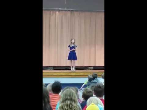 Dresden TN School Talent Show 2016-Alysse
