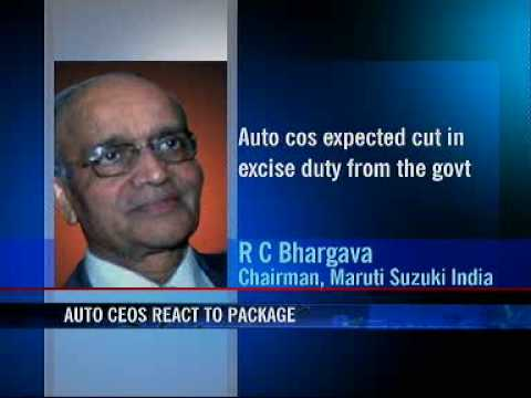 Rate cuts to help stimulate demand for auto: Maruti