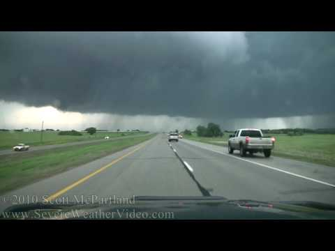 Stillwater, OK Supercell & Tornadoes- May 19th, 2010 [HD]