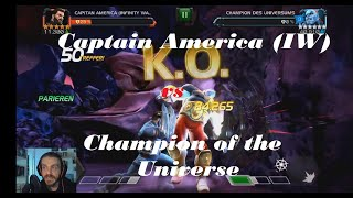 The Champion One Shot Takedown with Captain America (Infinity War) - Marvel Contest of Champions