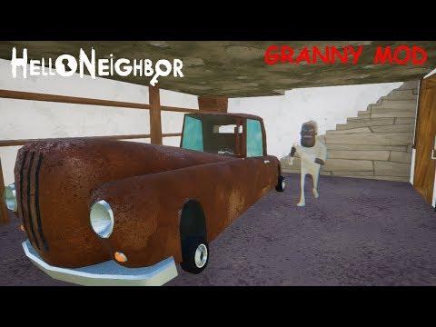 Hello Granny update 3 (Hello neighbor Mod)