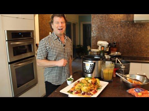 how to cook frozen chicken piwer pressure cooker xl