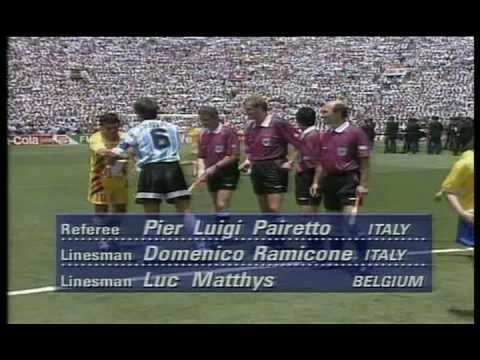 World Cup _94 - Romania Vs Argentina 3-2 [Part I]