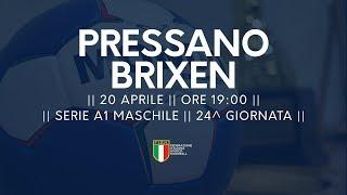 Serie A1M [24^]: Pressano - Brixen 33-27