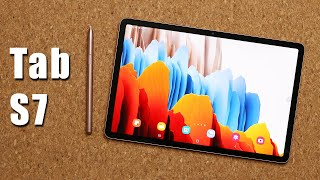 01. Samsung Galaxy Tab S7 - Unboxing, Setup and Initial Review