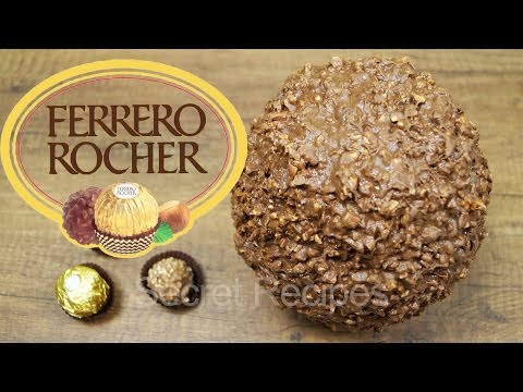ГИГАНТСКАЯ КОНФЕТА ФЕРРЕРО РОШЕ | GIANT FERRERO ROCHER