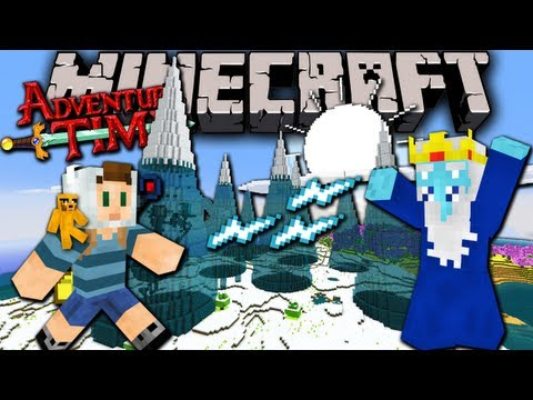 Minecraft: Adventure Time Map Quest with Jake in Ooo Ep.3 Ice Kings Pad