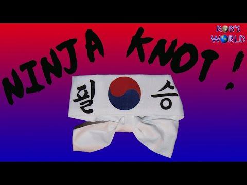 How to Tie the Ninja Knot! (Ian's Knot) - World's Fastest Knot
