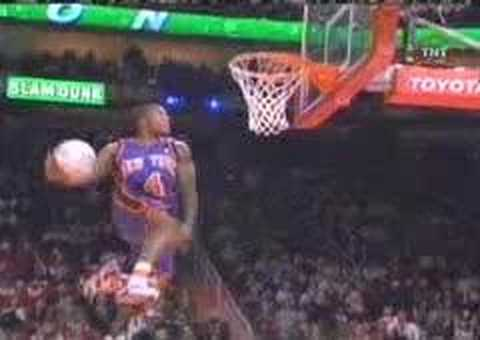Nate Robinson 2006 NBA Slam Dunk Contest Champion Video