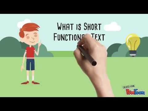 What Is Short Functional Text ?