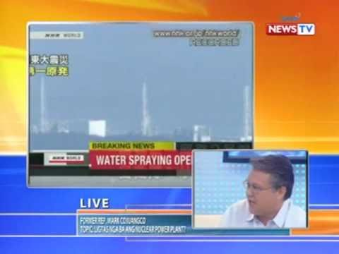 News to Go - Howie Severino interviews nuclear energy advocate Rep. Mark Cojuangco 3/17/11