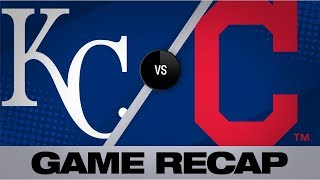 Lindor homers as Indians defeat Royals, 4-1 | Royals-Indians Game Highlights 8/23/19