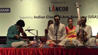 Malladi Brothers Lcarnatic Vocal L Global Heritage Music Fest 2017 L Web Streaming