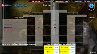 C1T3 - AoE 22 Random Đức Anh, Văn Hải vs NamSociu, Ma Làng Ngày 22-9-2018