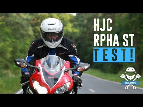 Mocny Kask Do Szybkiej Turystyki? HJC RPHA ST Test!