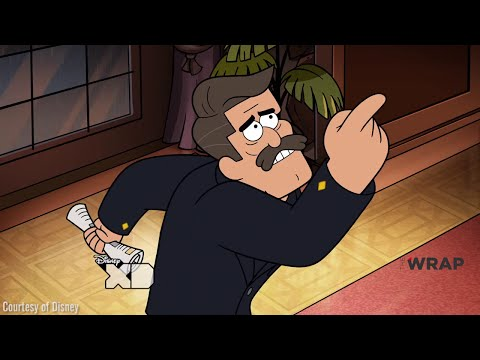 Gravity Falls - Northwest Mansion Mystery - Clip