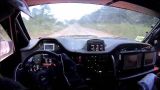2015 Dakar Robby Gordon Stage 11 Crash
