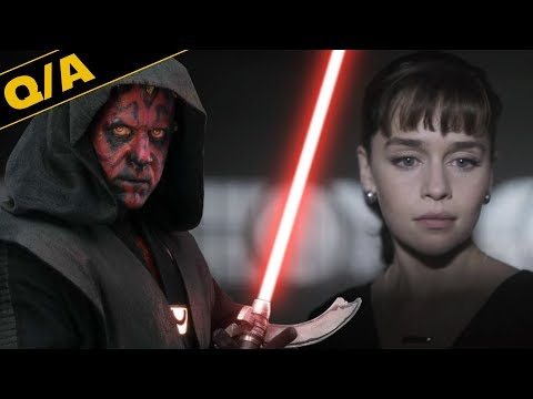 Which Star Wars Characters Should Get Streaming Shows? Star Wars Explained Weekly Q&A