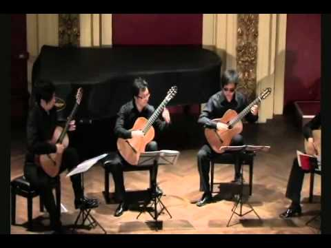 Beijing Guitar Quartet - Hungarian Rapsody No.2 by F.Liszt
