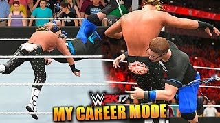 WWE 2K17 MY CAREER MODE #49 'NEW FINISHER AND SIGNATURE REVEALED!!!' (WWE 2K17 Gameplay)