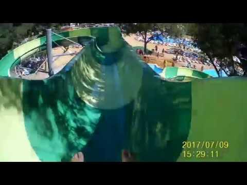 Аквапарк в Кабардинке - YouTube