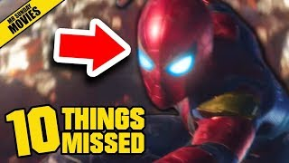 AVENGERS: INFINITY WAR Official Trailer Breakdown - Things Missed & Easter Eggs (Marvel Studios)
