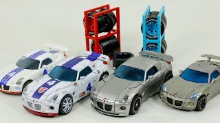 Transformers Deluxe Human Alliance Jazz VS G1 Skin Jazz Vehicles Car Robots Toys