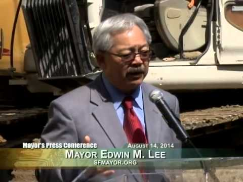 Mayor Lee Breaks Ground on 270 Brannan Street Office Building