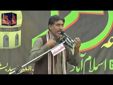 Zakir Ghulam Abbas Khokar | 14 Rabi Ul Awal | 2018 | Rajoa Sadat Mandi ( www.Gujratazadari.com )