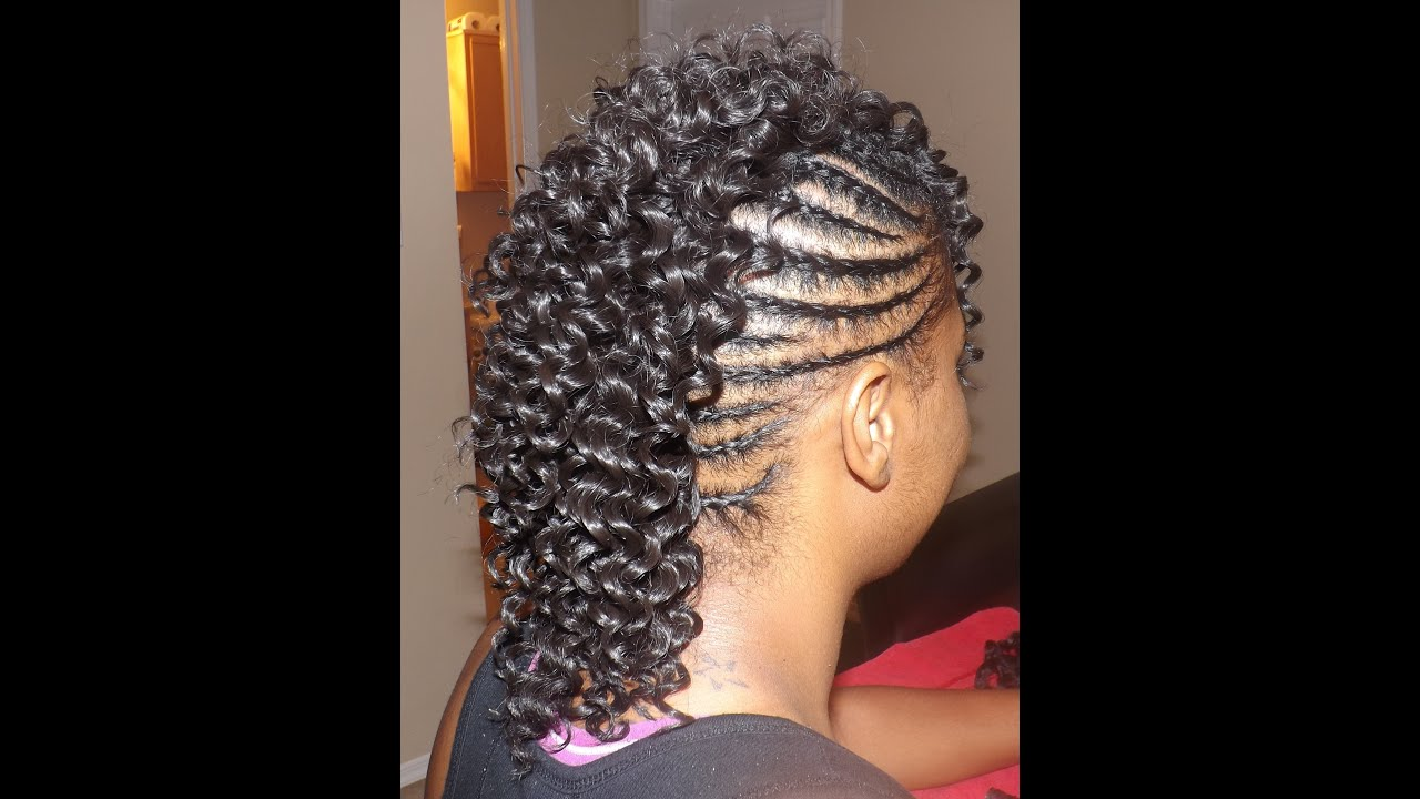 Sew In Mohawk Fgrogan Youtube
