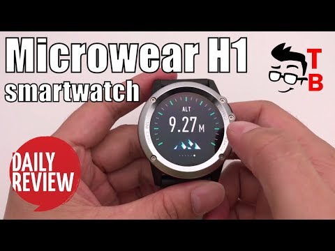 Microwear H1 Review and Unboxing: Most Advanced SmartWatch?
