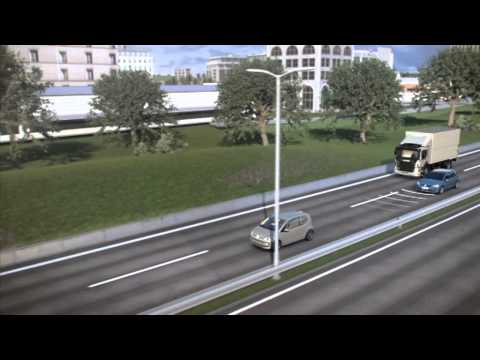 Volkswagen контроль фронтального столкновения | Euro NCAP Advanced | Награда 2012