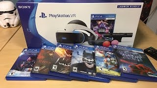 PlayStation VR Launch Bundle Unboxing