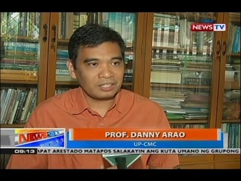 My views on online quarrels due to elections aired on News To Go (GMA News TV, April 27, 2016)