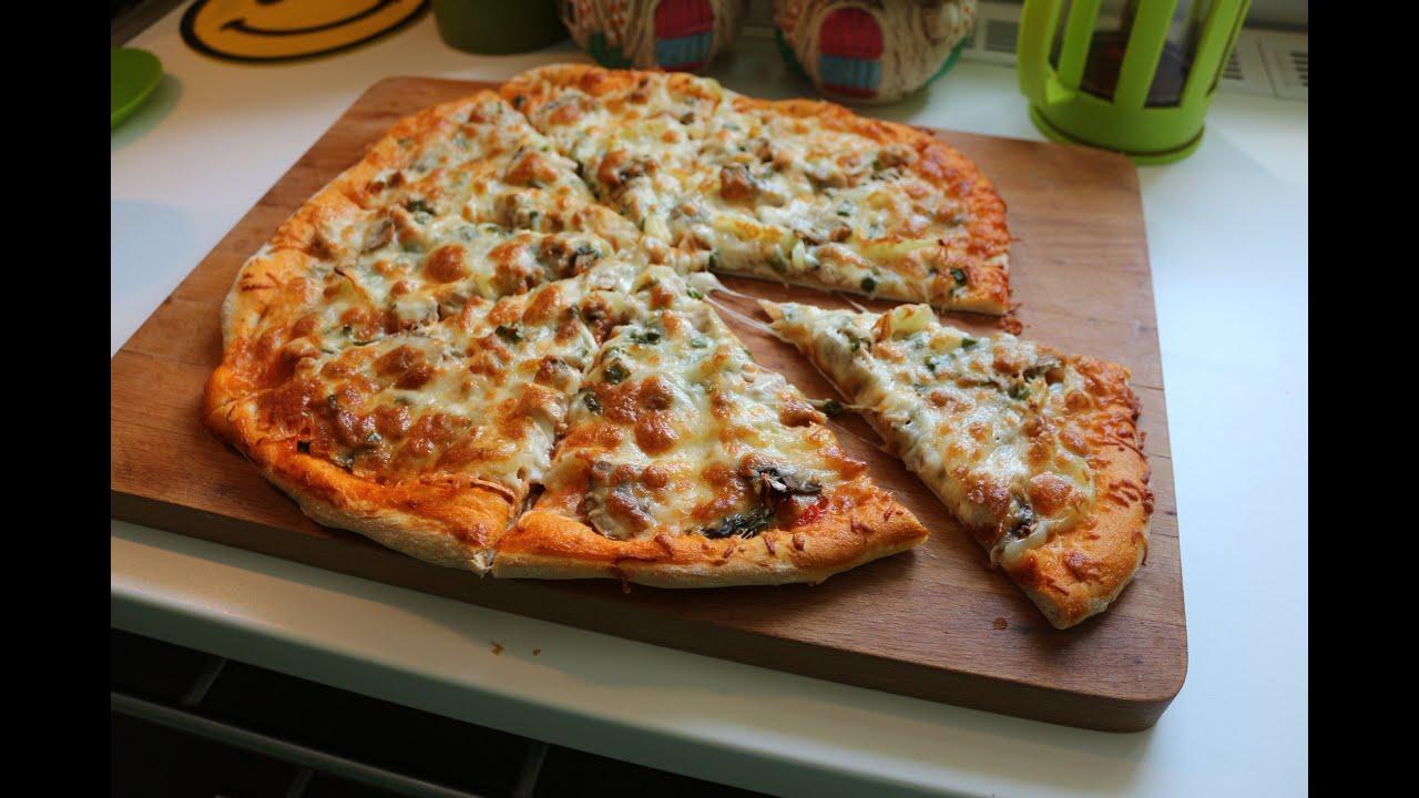 Рецепт теста для пиццы в духовке в домашних условиях фото