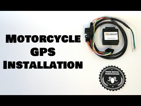 Motorcycle GPS Installation