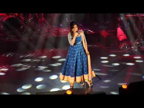 Shreya Ghoshal sings