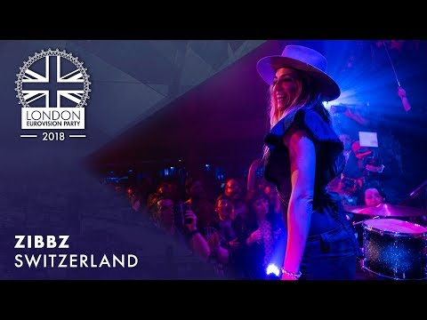 Zibbz - Stones - Switzerland | LIVE | OFFICIAL | 2018 London Eurovision Party