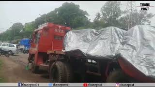 Three wounded in Container accident in Kalyan | Thane Post