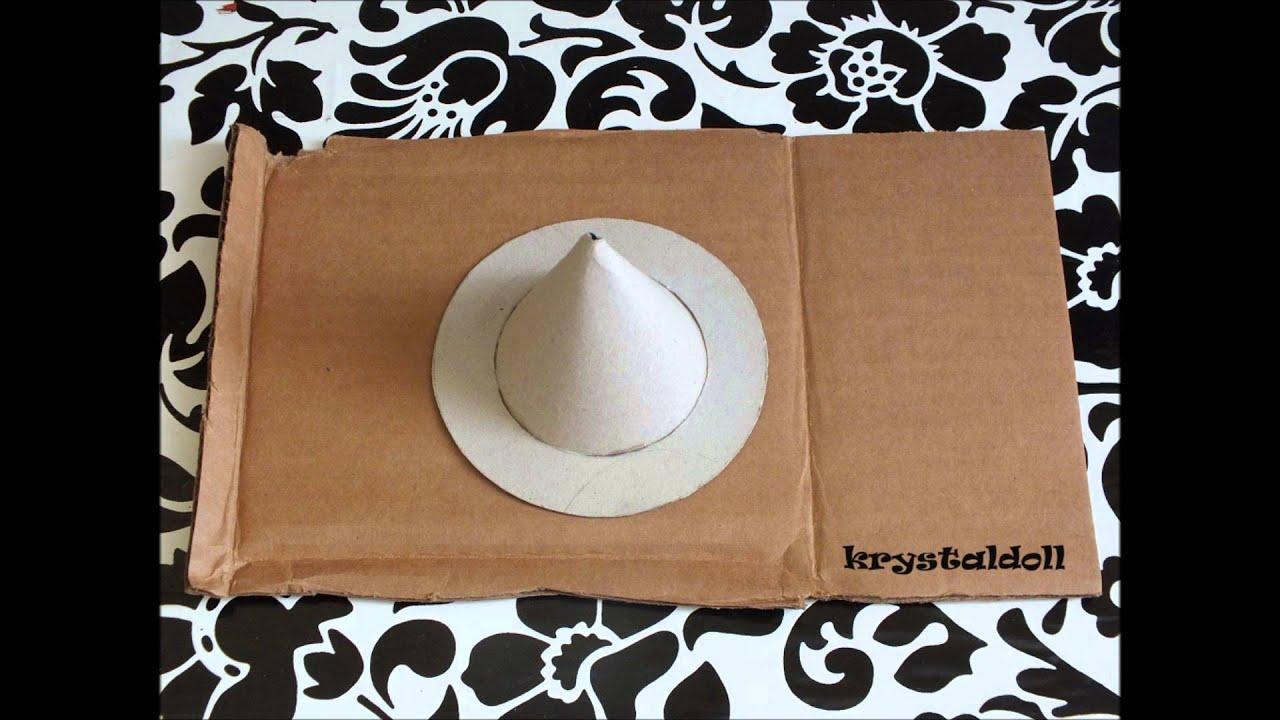 Tuto comment fabriquer un chapeau de sorci re pour vos poup es youtube - Faire un tutu pour adulte ...