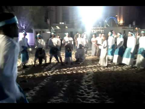 Omani Dance at Qatar marine festival 2011