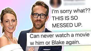 Ryan Reynolds and Blake Lively's Wedding Photos Have Fans Cancelling Them