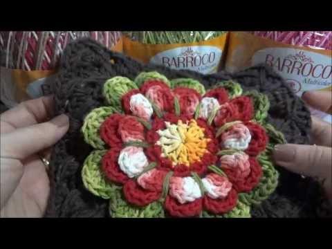 Flor Encanto Barroco parte-1