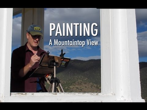 Painting a Mountaintop View with James Gurney