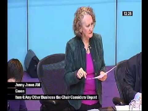 Jenny Jones AM moves urgent budget-related motion on river restoration 14th Feb 2014