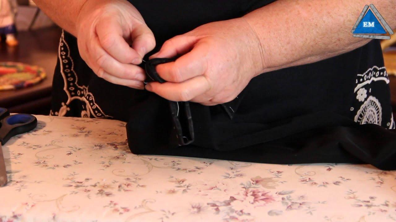 Укоротить мужские брюки в домашних условиях 199