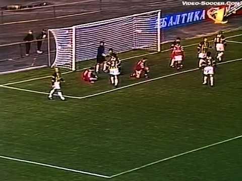 Алания (Владикавказ, Россия) - СПАРТАК 2:1, Чемпионат России - 1998