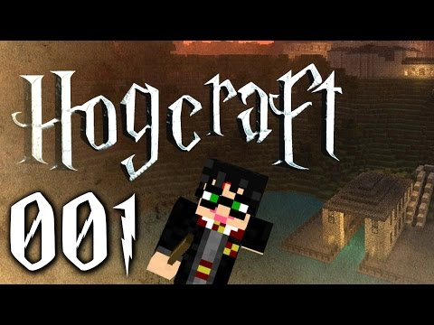 Let's Play Hogcraft #001 [Deutsch] [HD]   - Hogwarts!