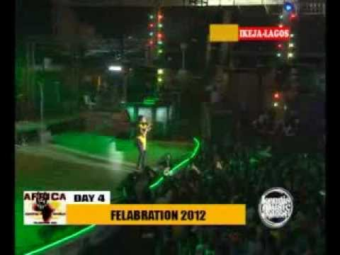 Chidinma Performing Kedike  Felabration 2012 video
